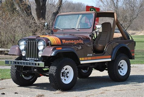 old jeep wrangler 1980 1980 jeep cj 5 wrangler renegade american car collector
