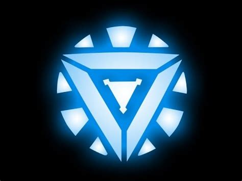 arc reactor emblem youtube