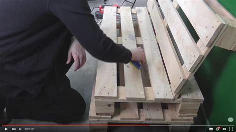 Aus Paletten Anleitung by Mobel Aus Europaletten Selber Bauen Anleitung Raum Und