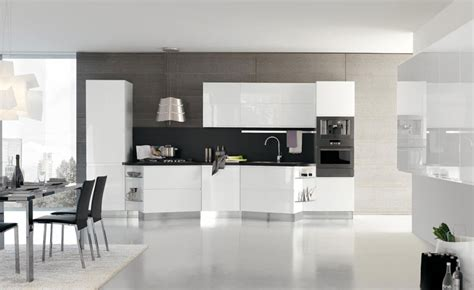 Modern Kitchenware by New Modern Kitchen Design With White Cabinets Bring From
