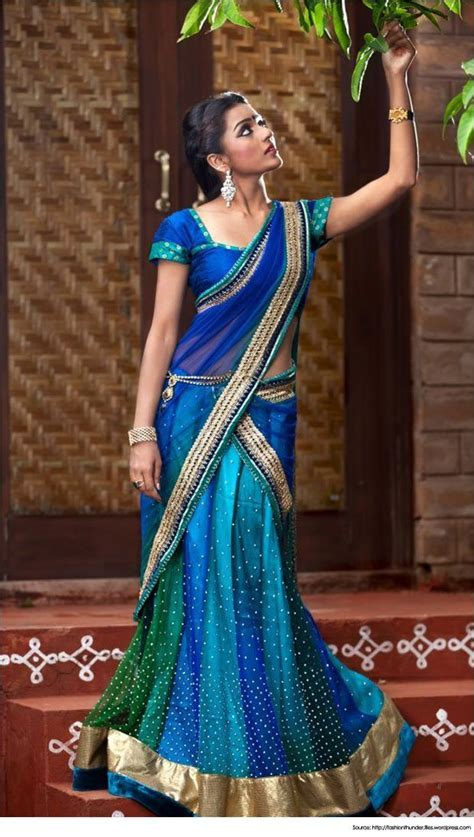 25  Best Ideas about Half Saree on Pinterest   Langa voni