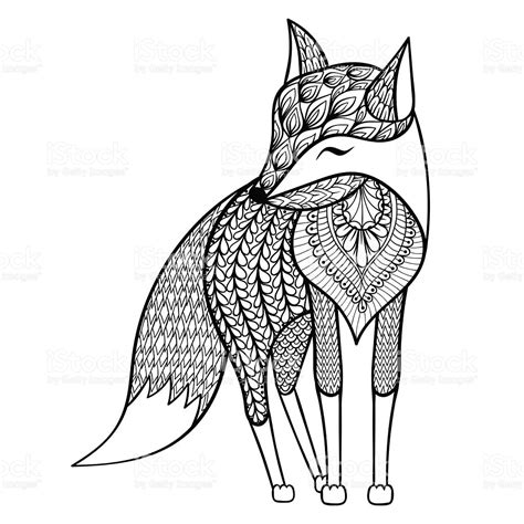 anti stress colouring book nz vector happy fox for anti stress coloring pages