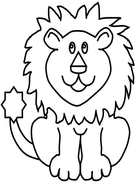 coloring pages of lion faces lions face coloring pages