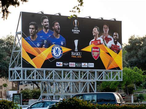 poster  europa league final arsenal  chelsea official