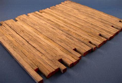 crane mats real wood 1 50 scale 10 set