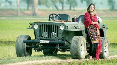 punjabi jeep punjabi model with jeep car wallpaper 04733 baltana
