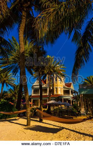 guest house key west southernmost point guest house key west florida keys florida usa stock photo