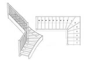 viertelgewendelte treppe holztreppen