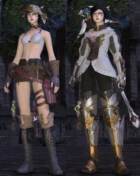 Vanity Armor Star Carver Blog Entry Quot Glamour Sets Quot Final Fantasy Xiv