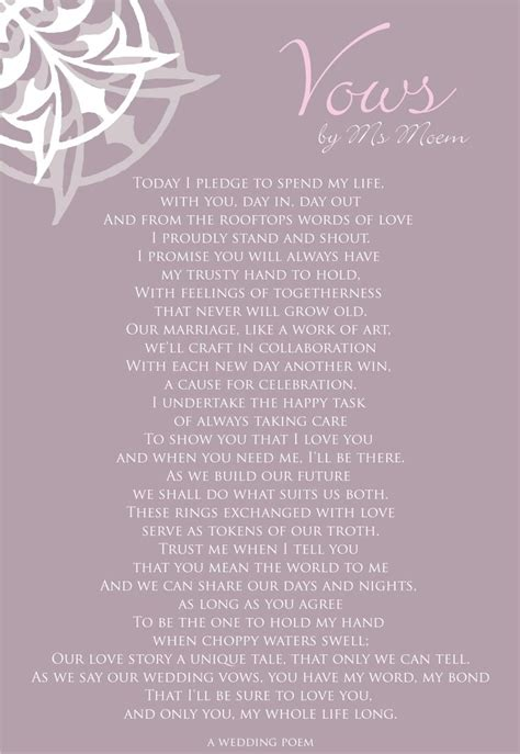 poems for wedding ceremonies best 25 poems wedding ideas on