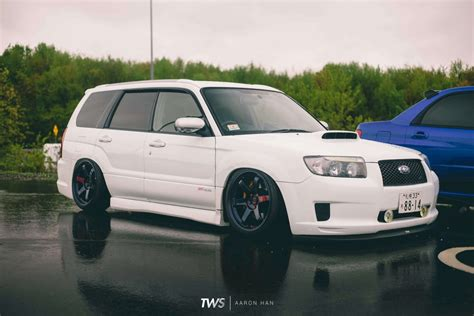subaru forester stance nation slammed subaru forester tuner evolution thirdworld the