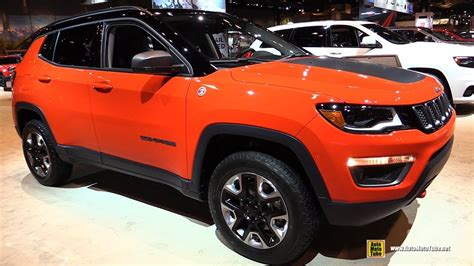 jeep compass trailhawk interior 2018 jeep compass trailhawk exterior and interior
