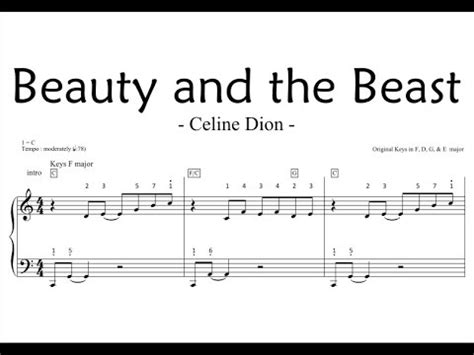 download lagu mp3 beauty and the beast beauty and the beast slide piano sheet youtube