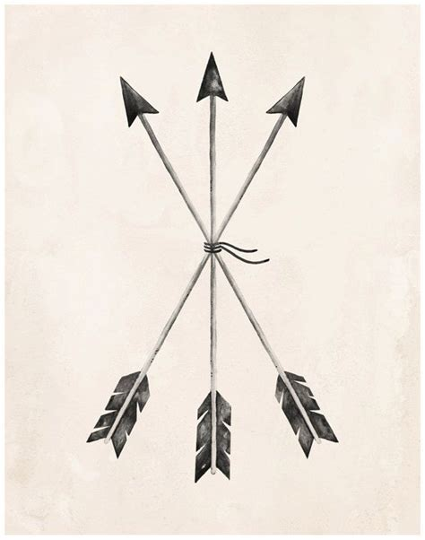 3 arrow tattoo arrows print 8x10 11x14 arrow tattoos