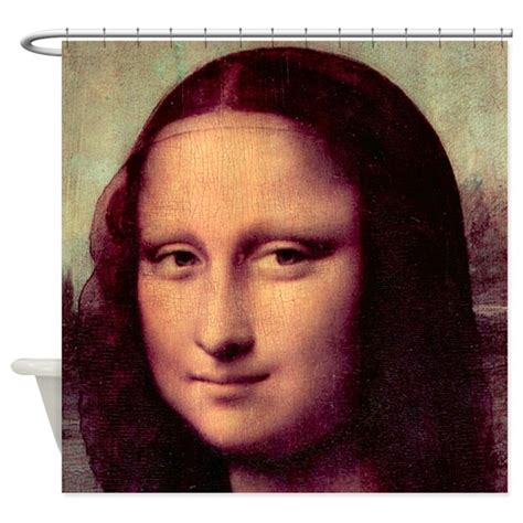 mona lisa shower curtain mona lisa shower curtain by iloveyou1