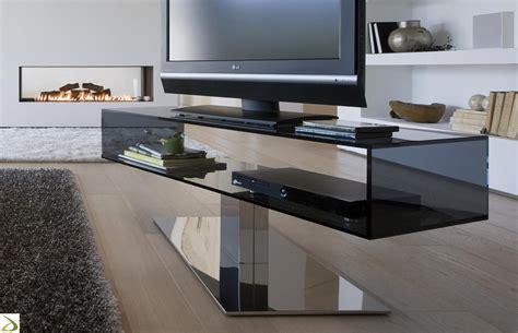 porta tv in vetro porta tv di design in vetro daniel arredo design