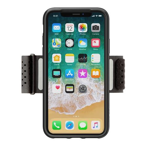 b iphone fitness armband for iphone x belkin