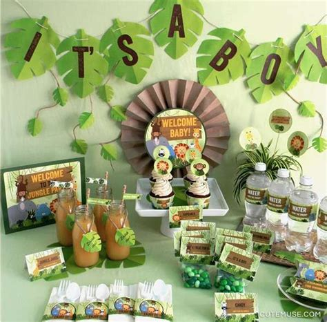 Jungle Safari Theme Baby Shower by Jungle Baby Shower Ideas Baby Shower