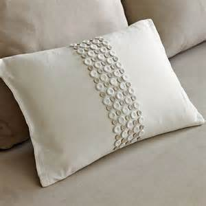 new abraham thakore button panel pillow cover modern