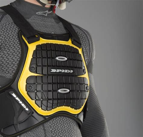 spidi defender   chest protector ile sirt ve goegues