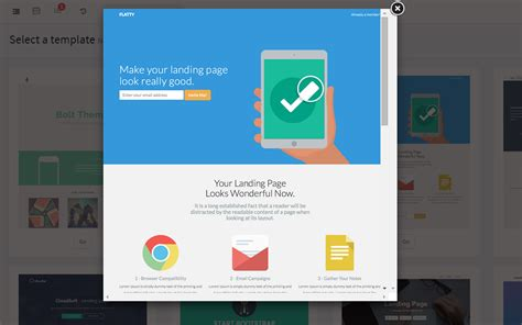 landing page templates try our new landing page builder agile crm