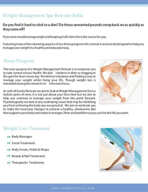 weight management retreat weight management spa retreats india