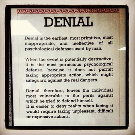quotes  denial   facing reality quotesgram