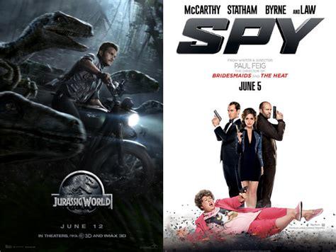 film komedi romantis box office baru seminggu dirilis jurassic world geser spy dari