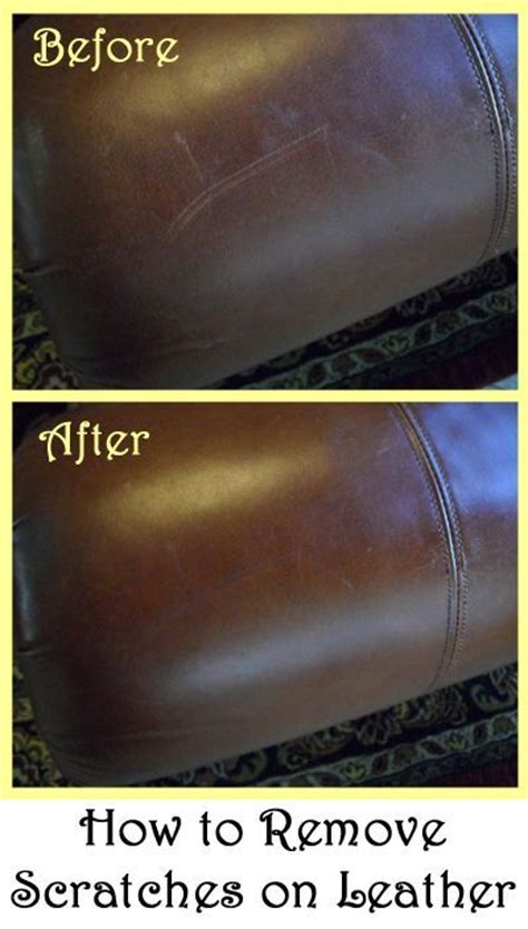 How To Fix Scratches On Leather Sofa by Remove Scratches On Leather Furniture Diy