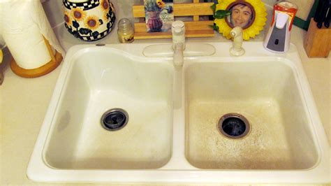How To Clean A Black Kitchen Sink Cleaning Removing Black Marks From A White Kitchen