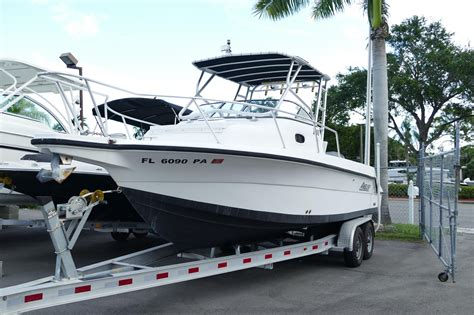 used boat parts naples fl 2004 used angler 2500wa saltwater fishing boat for sale