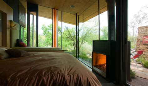 Two Sided by Glass Bedroom With Two Sided Fireplace Home Decorating
