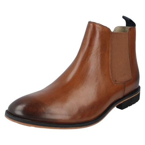 clarks chelsea boots mens mens clarks smart chelsea boots style gatley top ebay
