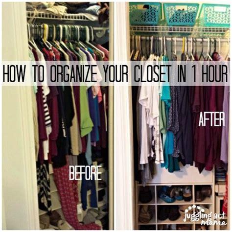 de junk challenge   organize  closets   hour
