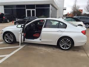2015 328i sport addition mineral white metallic w coral