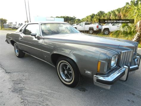 how to sell used cars 1975 pontiac grand prix parental controls rare 1975 pontiac grand prix quot lj quot match 400 v8 auto a c car lo reserv