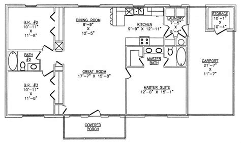 metal building house floor plans the lth027 lth steel structures