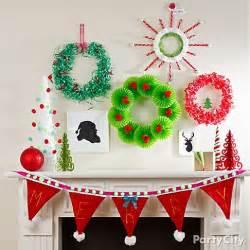 christmas mantel decorating ideas party city