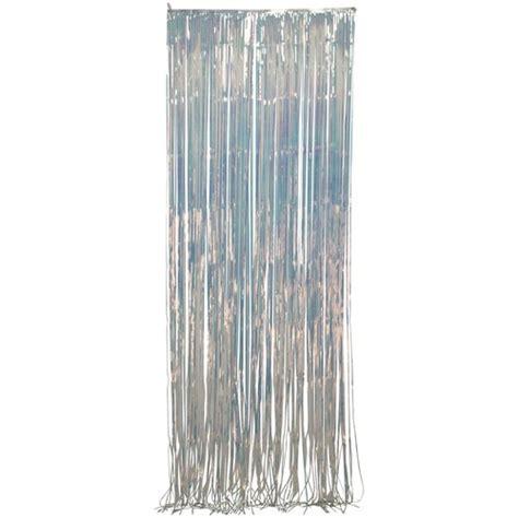 iridescent door curtain way to celebrate door curtain iridescent walmart com