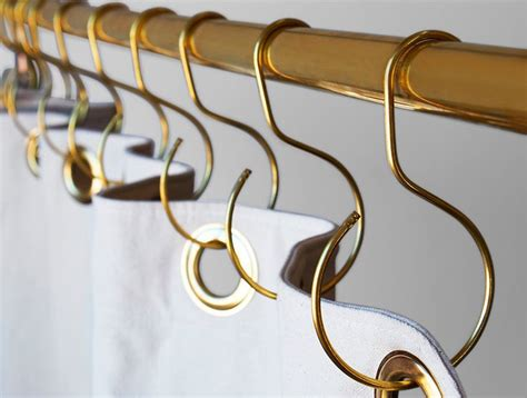 Shower Curtain S Hooks by 25 Best Ideas About Shower Curtain Hooks On