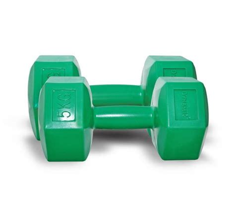 Dumbbell Plastik 10 Kg Dynamic Fashion Plastic Dumbbell 5 Kg