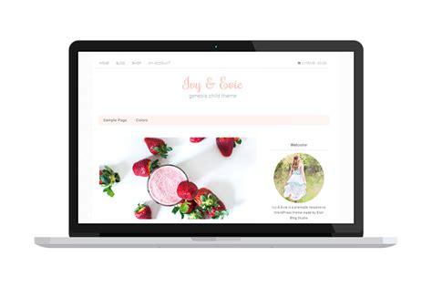 ivy themes themes blogger ivy evie ecommerce genesis theme wordpress commerce