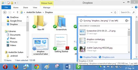 dropbox desktop app dropbox windows application overview