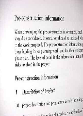 Template Plant Inspection Ppe Register Pre Construction Information Images Frompo Pre Construction Information Template