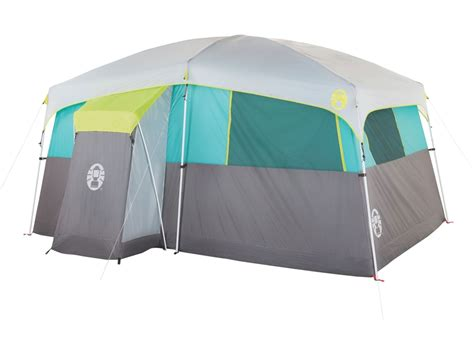 Tent Closet by Coleman Tenaya Lake Lighted Fastpitch 8 Person Cabin Mpn