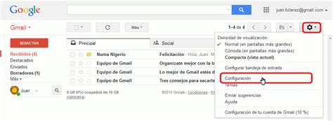 gmail bandeja de entrada resaltar correos gmail google apps bartolom 233 sintes marco