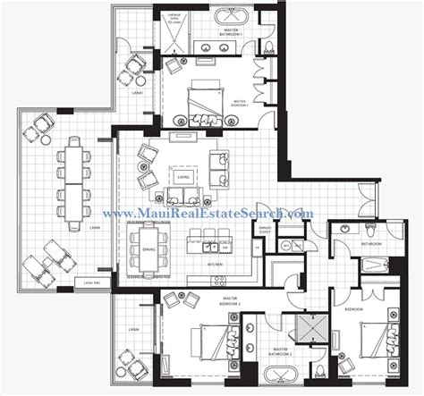 honua kai floor plan honua kai konea 601 for sale