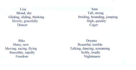 cinquain poem exles jpg alca