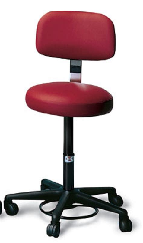 Stool With Backrest Adjustable Height by Height Adjustable Air Lift Stool With Backrest