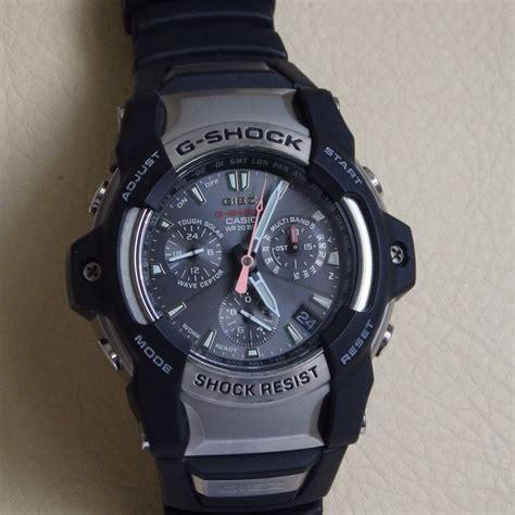 Casio G Shock Gwn1100 casio g shock wave ceptor gs 1100 chronographe pour